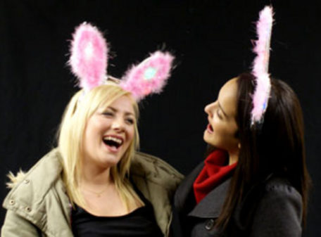 Flashing Bunny Ears - With Models