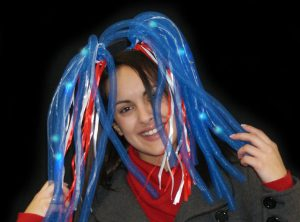 Flashing Dreadlocks - Multi Colour