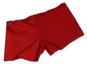 Neon Red UV Hotpants