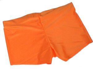 Neon Orange UV Hotpants