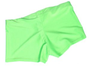 Neon Green UV Hotpants