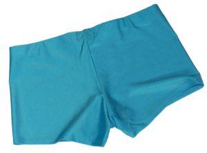 Neon Blue UV Hotpants