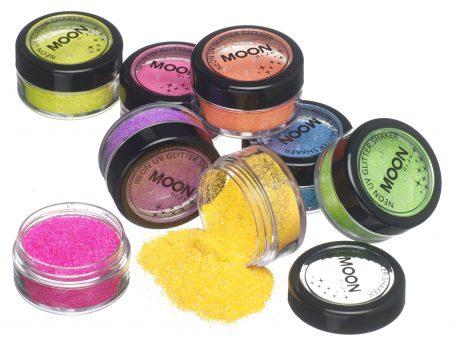UV Glitter Shakers - Various Neon Colours