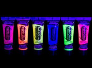 Glitter UV Face and Body Paints