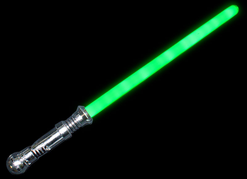 Laser space sword with sound altereglow for Galaxy wand laser