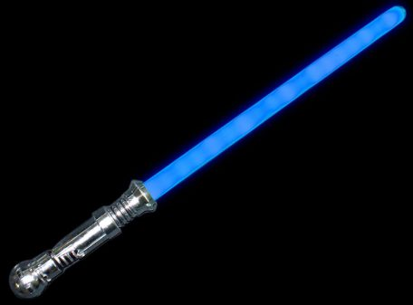Blue Light Sabre