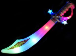 LED Pirate Cutlass Sword