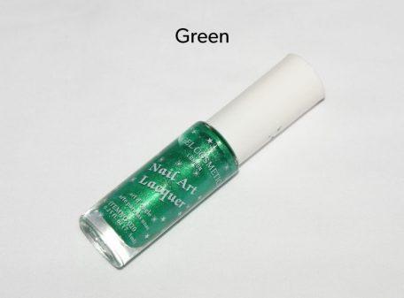 Bright Nail Varnish - Green