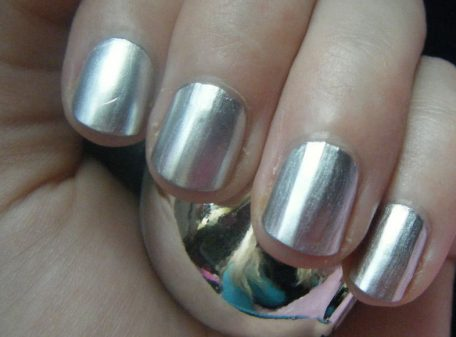 Chrome Nail Polish - Silver
