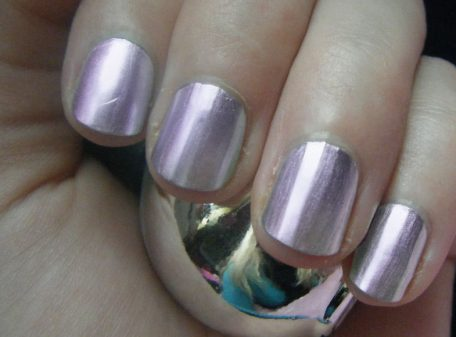Chrome Nail Polish - Purple
