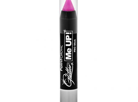 UV Glitter Stick Candy Pink