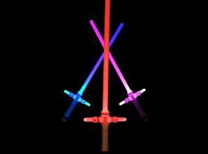 Motion Sensitive Colour Changing Light Sabre