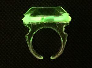 Glow Stick Ring - Green