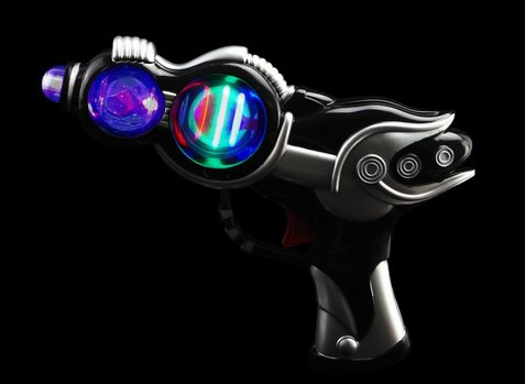 Space Wars Blaster Gun - Black