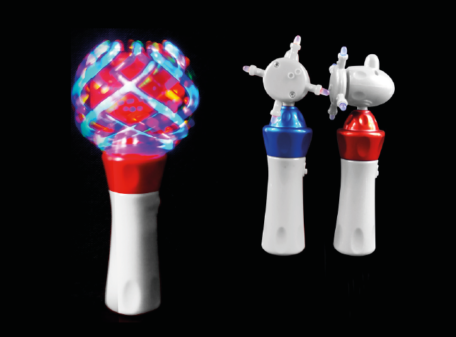 LED Cyclone Spinner Torch