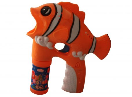Orange Clownfish Bubble Gun