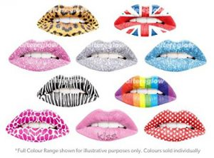 Pack of 2 Temporary Lip Tattoos