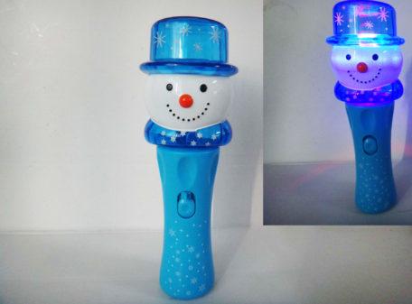 Light-Up Snowman Spinning Torch
